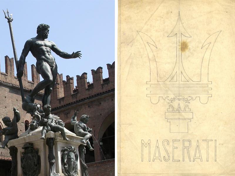 Auto Sposi Napoli - Auto per cerimonie | Storia del logo Maserati