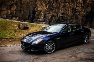 Auto-sposi-Maserati-Quattroporte-BLU