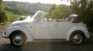Auto Sposi Napoli | Maggiolone cabrio | Il fascino vintage di un auto intrambontabile, per matrimoni di stile