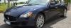 Auto Sposi Napoli | Maserati Quattroporte blu  | Un mito come auto per cerimonie e nozze
