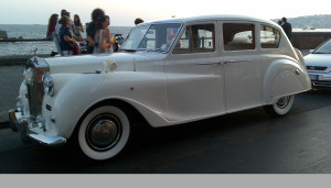 Auto Sposi Napoli | Rolls Royce d'epoca | Auto per cerimonie di lusso regale