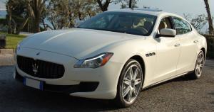 Auto Matrimonio Napoli   La flotta delle auto in noleggio   Maserati Quattroperte bianca