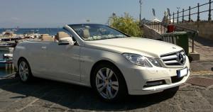 Auto Matrimonio Napoli | Noleggio Mercedes Cabrio persposi e cerimonie