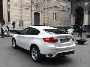 Auto Matrimonio Napoli | BMW X6, auto elegante ed importante, perfetta per le cerimonie