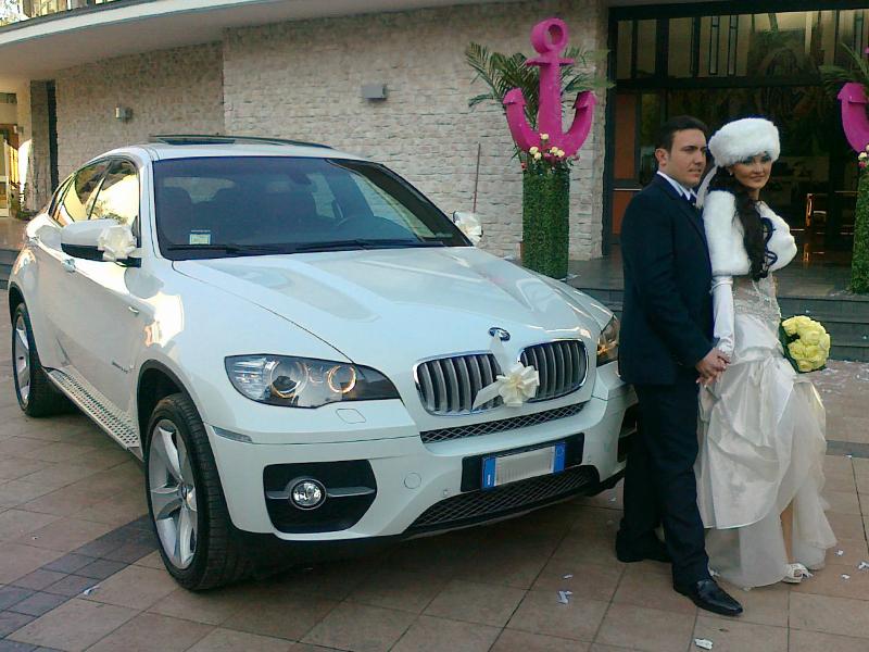 Auto sposi Napoli | BMW X6, uno splendido SUV in noleggio, per le nozze