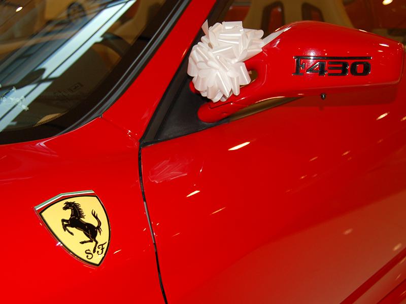 Auto Sposi Napoli | Ferrari f430 Spider, una auto straordinaria per cerimonie eccezionali