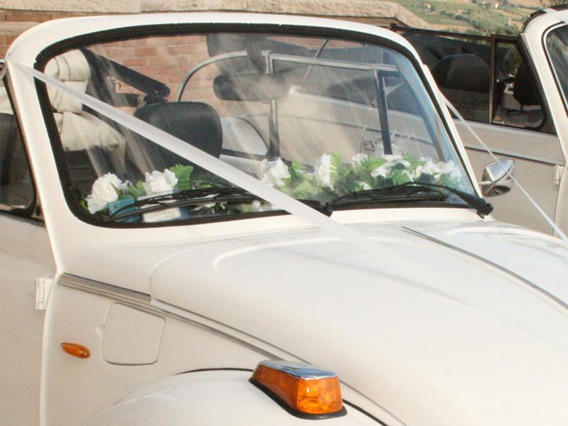 Auto Sposi Napoli | Maggiolone vintage, in noleggio per cerimonie e nozze
