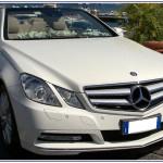 Auto Sposi Napoli, noleggio auto per cerimonie |Mercedes E Cabrio, auto per sposi
