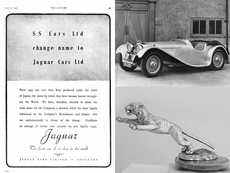 Auto sposi Napoli | L'atto di nascita ufficiale del casato Jaguar