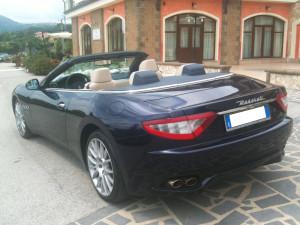 Maserati Gran Cabrio, una auto nata per cerimonie e matrimoni unici