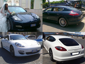 Auto Matrimonio Napoli | Noleggio cerimonie | Porsche Panamera per le nozze