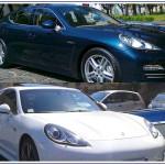 Auto Sposi Napoli - noleggio auto per cerimonie | Porsche Panamera per matrimoni