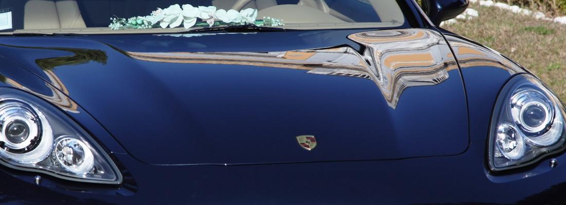 Autonoleggio per cerimonie e matrimoni Napoli - Porsche
