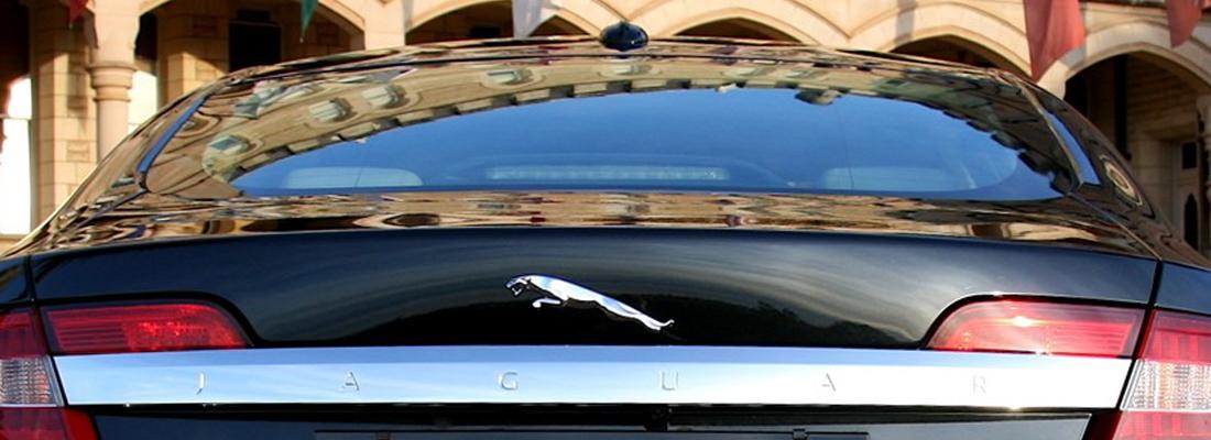 Jaguar in noleggio per sposi e cerimonie | Napoli