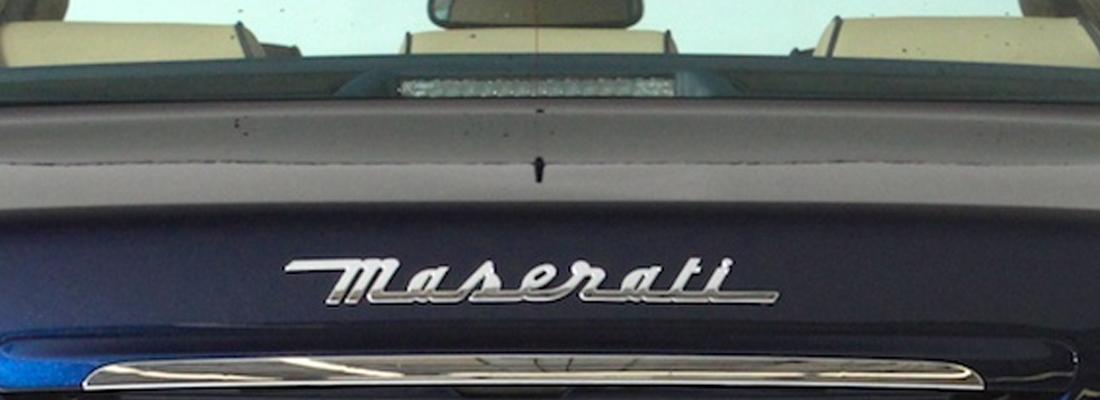 Maserati in noleggio per sposi e cerimonie | Napoli