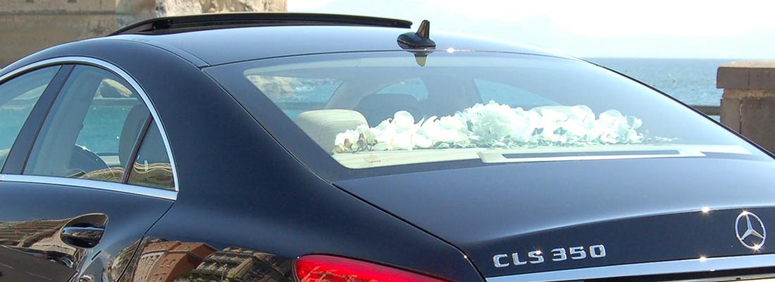 Mercedes in noleggio per sposi e cerimonie | Napoli