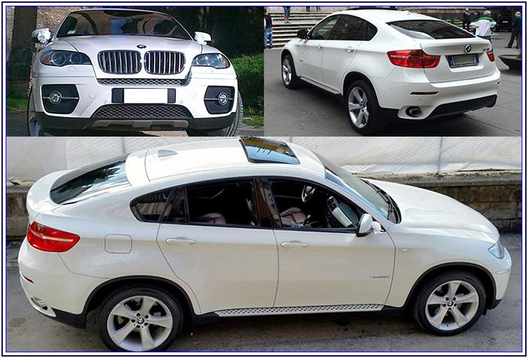 BMW X6, SUV per le nozze - Auto Matrimonio Napoli
