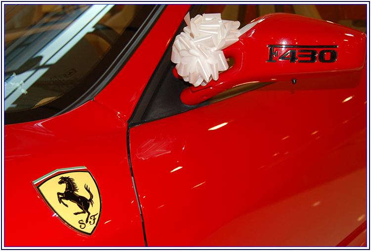 Ferrari f430 spider per le nozze - Auto Matrimonio Napoli