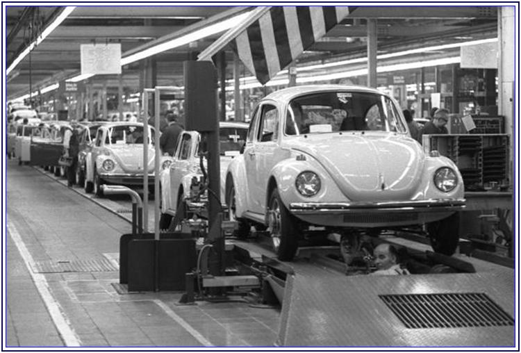La nascita e la storia del Maggiolone VolksWagen - Auto Matrimonio Napoli