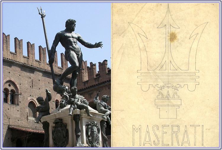 La storia del logo del Tritone della Maserati - Auto Matrimonio Napoli