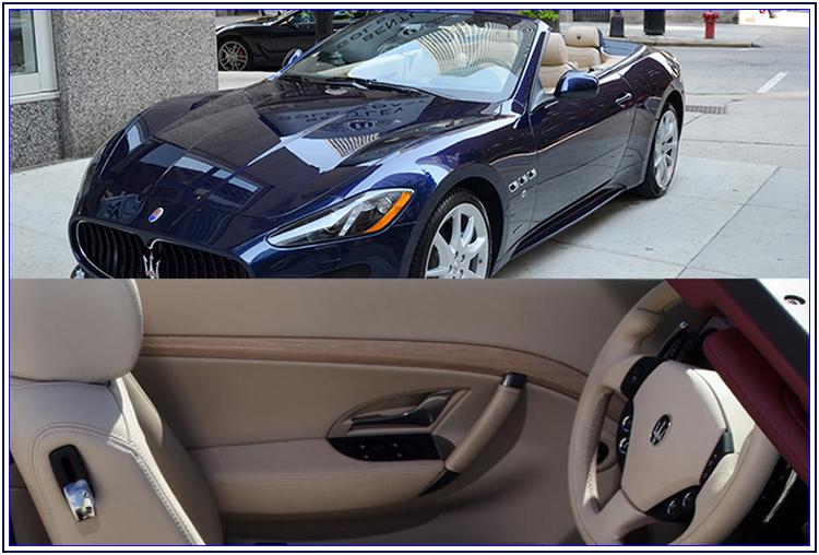 Maserati Gran Cabrio per le nozze - Auto Matrimonio Napoli