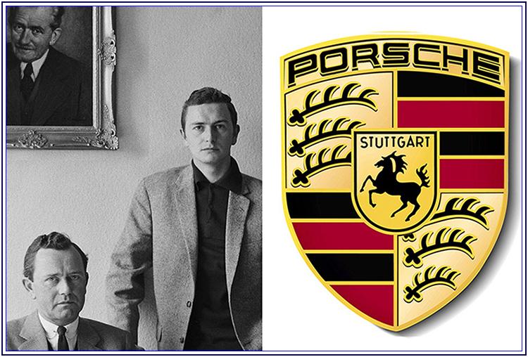 La storia del logo composito della Porsche - Auto Matrimonio Napoli