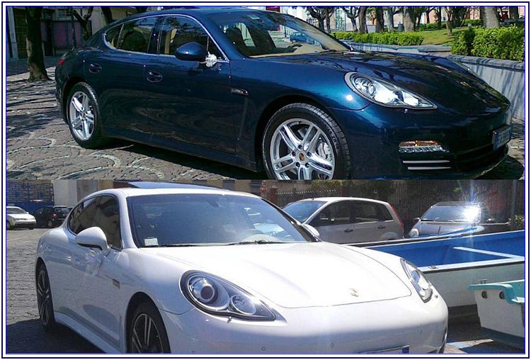 Porsche Panamera per le nozze - Auto Matrimonio Napoli