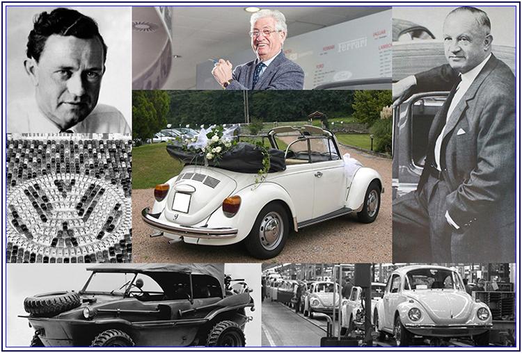 La storia del Maggiolone VolksWagen - Auto Matrimonio Napoli