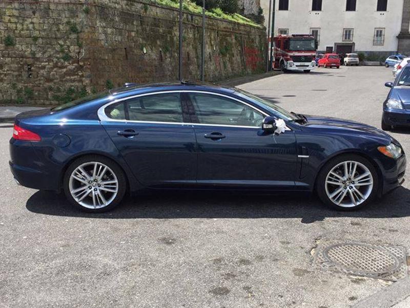Auto Matrimonio Napoli | Jaguar XJ, auto per gli sposi d'eccellenza