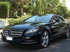 Auto Matrimonio Napoli | Mercedes CLS, ammiraglia per matrimoni
