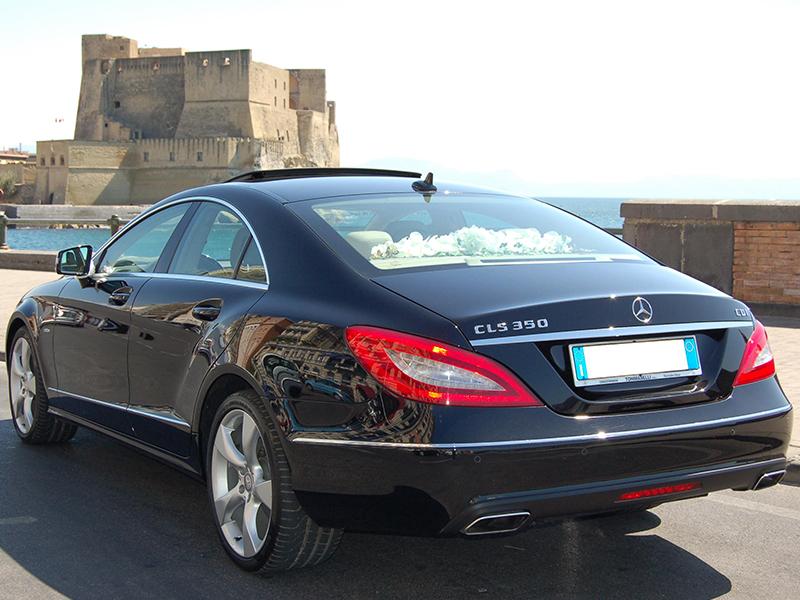 Auto Matrimonio Napoli | Mercedes CLS, auto ideale per le nozze