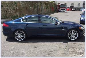 Auto per cerimonie Napoli | Jaguar XF, per matrimoni e sposi eleganti