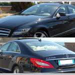 Auto per Cerimonie Napoli | Mercedes CLS, auto per matrimoni eleganti