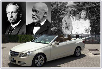 Auto per sposi e cerimone Napoli | Mercedes, le origini