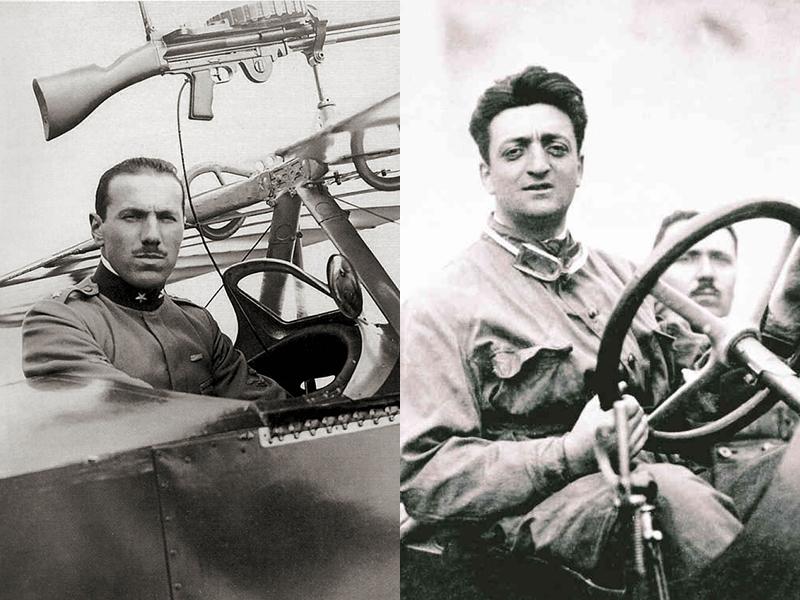 Auto per le nozze Napoli | Francesco Bracca ed Enzo Ferrari