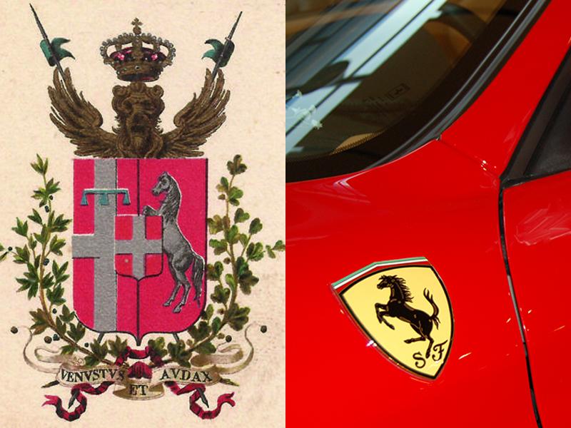 Auto sposi Napoli | La storia del logo della Ferrari