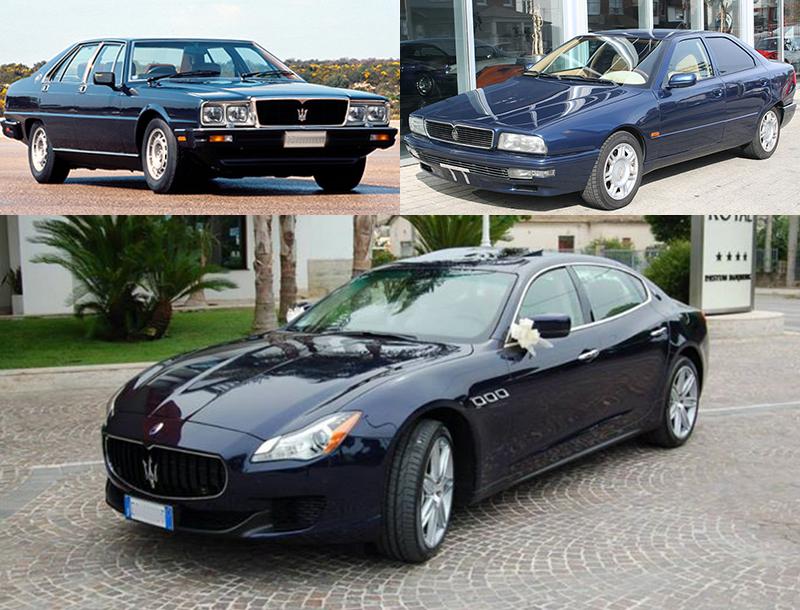Auto sposi Napoli| Maserati QuattroPorte per cerimonie
