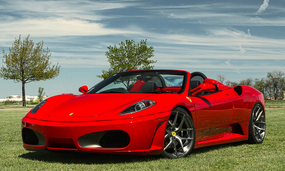 auto-sposi-Napoli_Ferrari-f430_noleggio-matrimonio