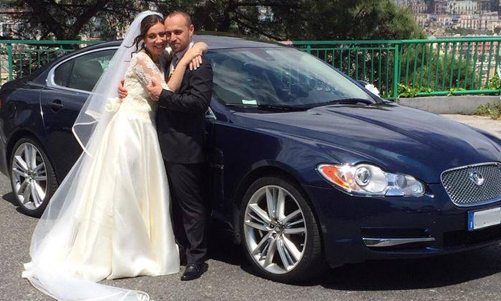 auto-sposi-Napoli_Jaguar-XF_noleggio-nozze