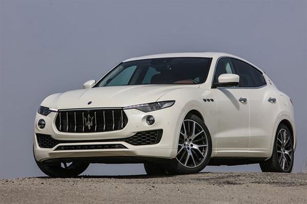 Un Suv come auto per cerimonie: un esclusivissimo Suv firmato Maserati, la Levante