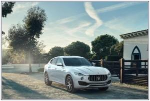 Auto Matrimonio Napoli - Maserati Levante Suv elegante