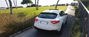auto sposi Napoli | Maserati Suv Levante | auto cerimonie Napoli