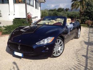 Auto Sposi Napoli - Auto per cerimonie | Maserati Gran Cabrio