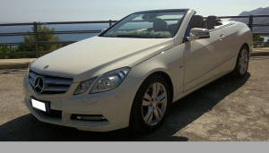 Auto Sposi Napoli   Mercedes E cabrio   Una auto per le nozze di grande raffinatezza