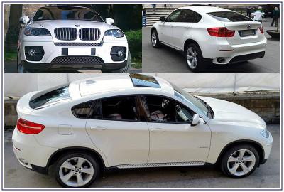 Auto Sposi Napoli - noleggio auto per cerimonie | BMW X6, SUV elegante per matrimoni